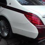 Mercedes S500 độ thêm Lô gô Maybach tại Hải Phòng