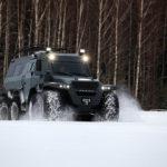 Choáng xe SUV khổng lồ đến từ Nga