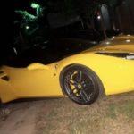 Ferrari và Lamborghini, bentley là của đại gia Hà Nội đến chơi ở Phú Thọ