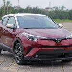 Toyota C-HR 2018 màu đỏ trắng về Việt Nam