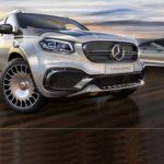 Bán tải Mercedes X class độ siêu sang chảnh như du thuyền