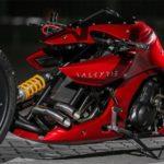 Siêu xe mô tô Valkyrie Kenstomoto cực độc đáo