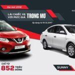 Nissan X Trail và Sunny cùng tăng giá