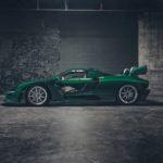 Siêu xe Mclaren Senna carbon xanh cực khủng đầu tiên trên thế giới