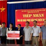 Toyota Việt Nam ủng hộ đồng bào bị lũ lụt 826 triệu đồng