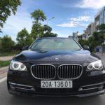 """Ngắm """"du thuyền mặt đất"""" BMW 730 Li biển Thái Nguyên giá bán lại chỉ 2 tỷ đồng"""