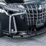 Toyota Alphard độ siêu hầm hố bởi Rowen International