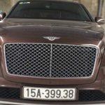 Bentley bentayga giá hơn 15 tỷ của đại gia Hải Phòng