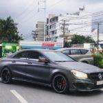Mercedes CLA45 AMG dùng 4 năm bán 1,3 tỷ đồng