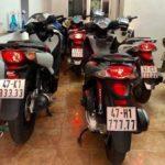 Dàn xe Honda SH toàn biển ngũ quý ở Đắk Lắk