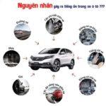Những nguyên nhân gây ồn cho ô tô