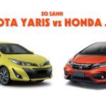 Honda Jazz RS nhiều ưu điểm hơn so với Toyota Yaris và Mazda2 Hatchback