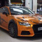 Audi TT độ họa tiết trống đồng độc đáo ở Kiên Giang