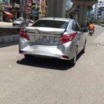 Xe Ford EcoSport không bị sao khi húc đuôi Toyota Vios