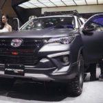 Toyota Fortuner độ phong cách thể thao nhờ gói TRD Sportivo