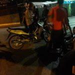 2 cô gái bị thương khi va chạm ô tô ở phố Hàng Buồm Hà Nội