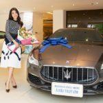 Á hậu xinh đẹp Thuý Vân sắm Maserati Quattroporte GranLusso giá gần 8 tỷ