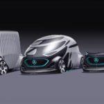 Siêu xe điện tự lái đa năng Mercedes Vision Urbanetic