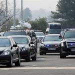 Dàn xe hộ tống Tổng thống Hàn Quốc toàn Mercedes và Cadillac