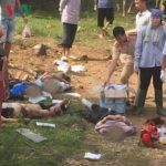 Hiện trường vụ tai nạn giao thông thảm khốc ở Lai Châu làm 10 người chết