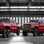 Choáng xe bán tải Chevrolet Silverado độ 6 bánh giá 8,5 tỷ