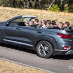 Hyundai Santafe bản mui trần thể thao ?