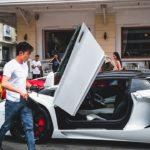 Cường đôla, Tuấn Hưng lái siêu xe khuấy động đường phố Sài Gòn