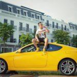 Dân chơi Tùng Giang mua lại Hyundai Genesis 2009 giá 450 triệu đồng ?