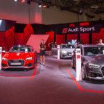 Dàn xe sang Audi đẳng cấp tại Audi Brand Experience Sigapore 2018