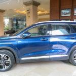 Hyundai Santafe thế hệ mới đầu tiên dạo phố Hà Nội
