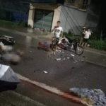 2 xe máy đối đầu 3 người tử vong tại chỗ