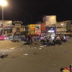 Xe sang BMW tông nhiều người bị thương