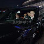 Tổng thống Nga lái xe siêu sang trên đường đua F1