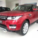 Range rover sport HSE giá trên 5 tỷ màu đỏ hiếm ở Việt Nam