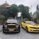 Rolls royce Phantom độ mạ vàng đến chơi ở Hải Phòng