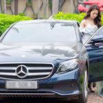 Quỳnh búp bê sở hữu Mercedes E250 giá 2,5 tỷ đồng