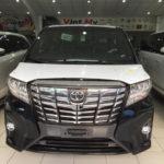 Bảng giá bán đầy đủ tất cả dòng xe Toyota chính hãng tháng 10/2018