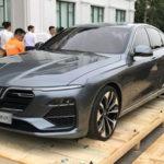 Xe Vinfast sedan LUX A2.0 tuyệt đẹp về Việt Nam