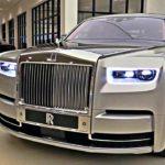 Rolls royce Phantom 2019 với lớp vỏ như phủ bạc nguyên chất