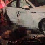 Audi A5 va chạm với 2 xe máy, một người tử vong
