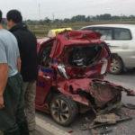 Hy hữu tài xế xe tải bị tai nạn, đưa lên viện rồi tiếp tục bị tông nguy kịch