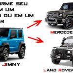 Hãng DAMD độ Suzuki Jimmy giống Land rover Defender và Mercedes G class