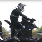 Ngắm siêu xe mô tô bay của cảnh sát Dubai giá 4 tỷ / chiếc