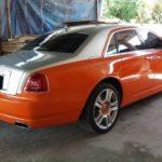 Đại gia Sài Gòn độ Rolls royce Ghost Series II giá 40 tỷ màu da cam