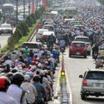 Những hình ảnh tắc đường ở Hà Nội gây choáng nhiều người