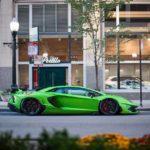 Siêu xe Lamborghini Aventador SVJ ngoài đời thực