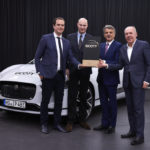 Jaguar I-PACE được bầu chọn là xe của năm tại Đức