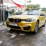 BMW 318 đời cũ 2004 chi 300 triệu độ thành phom 2017