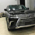Nghệ An: Bỏ ra 500 triệu đồng nâng cấp Lexus LX570 2008 thành bản 2018