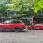 Siêu xe Mclaren 720S đỏ rực trên phố Sài Gòn